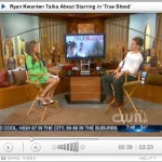 Video interview with Ryan Kwanten