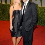 Anna Paquin and Stephen Moyer attend the 2009 Vanity Fair Oscar party