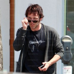 Stephen Moyer out and about