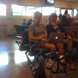 Anna Paquin spotted at JFK