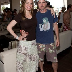 Kristin Bauer and Sam Trammell at Wet Republic