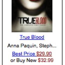 True Blood Nearing 1 Million DVDs Sold After 4 Weeks