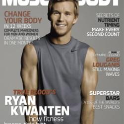 Ryan Kwanten featured in Muscle & Body