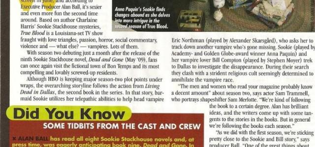 Behind the scenes: True Blood