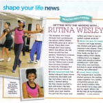 Rutina Wesley featured on Shape Magazine