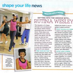 Rutina Wesley featured on Shape Magazine