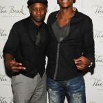Nelsan Ellis and Mehcad Brooks out and about in Las Vegas
