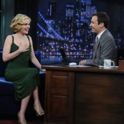 Anna Paquin on the Jimmy Fallon Show