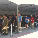 Comic-Con… the line is already forming