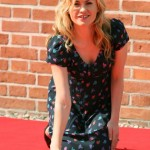 Anna Paquin leaves her handprint in Poland