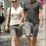 Anna Paquin & Stephen Moyer out and about