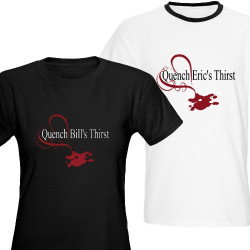 True Blood tees: Quench Bill's or Eric's thirst