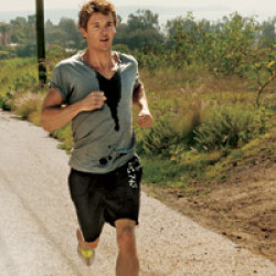 Ryan Kwanten makes the world his gym