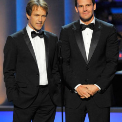 Stephen Moyer at the 61st Annual Emmy Awards