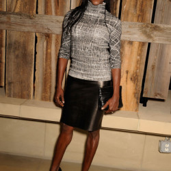 Rutina Wesley out and about