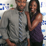 Rutina Wesley and Nelsan Ellis party in Boston
