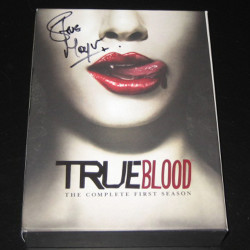 Auction True Blood DVD signed by Stephen Moyer