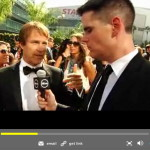 Stephen Moyer interviewed by Ausiello on the Emmys red carpet