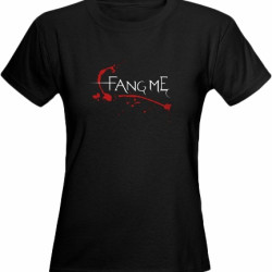 'FANG ME' T-shirts now available in the shop
