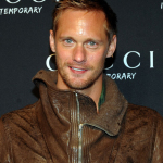 Alexander Skarsgård attends the Gucci Sneaker Store launch