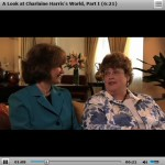 In depth up-close videos with and about Charlaine Harris