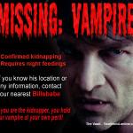 Vampire Missing – Bill Compton