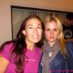 Anna Paquin attends Trick 'R Treat screening
