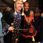 Rutina Wesley and Sam Trammell celebrate Halloween in Las Vegas