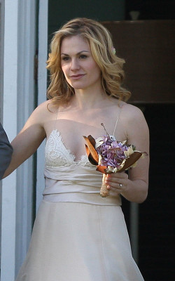 Anna Paquin Wedding