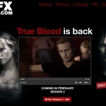 FX UK True Blood Season 2 web site