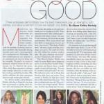 Rutina Wesley in Allure Magazine