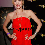 Ashley Jones at the Golden Globes Style Lounge