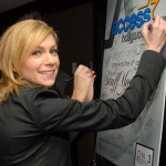 "Carrie Preston attends Access Hollywood ""Stuff You Must…"" Lounge"