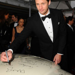 True Blood stars sign charity car at Golden Globe Awards