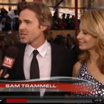 Video: Sam Trammell at the SAG Awards