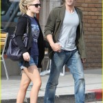 Stephen Moyer and Anna Paquin out and about in Venice