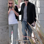 Anna Paquin and Stephen Moyer spotted out in Venice