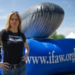 Kristin Bauer speaks out for the whales on Earth Day