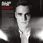 Allan Hyde in the summer issue of VMan Magazine