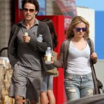 Anna Paquin & Stephen Moyer at Eleven Restaurant in L.A