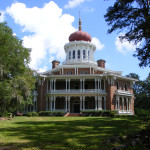 True Blood Season 3 films at Longwood in Natchez, MS