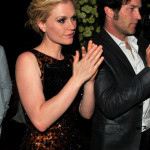 Anna Paquin and Stephen Moyer attend cocktail party hosted by Valentino