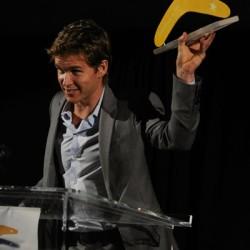 Ryan Kwanten receives Aussie Breakthrough Award