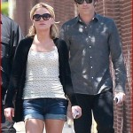 Sookie, Bill and Jason spotted on the True Blood set