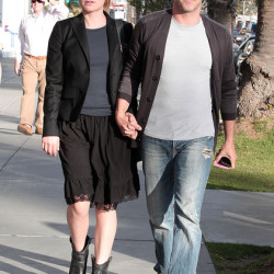 Anna Paquin and Stephen Moyer spotted in Santa Monica