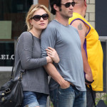 Anna Paquin and Stephen Moyer take a walk in Santa Monica