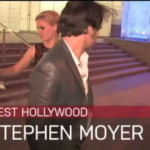 Video: Anna Paquin and Stephen Moyer leave Boa restaurant
