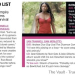 The Desert-Island List of True Blood Stars from Marie Claire