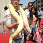 """Kevin Alejandro attends the Cartoon Network's """"Unnatural History"""" world premiere"""