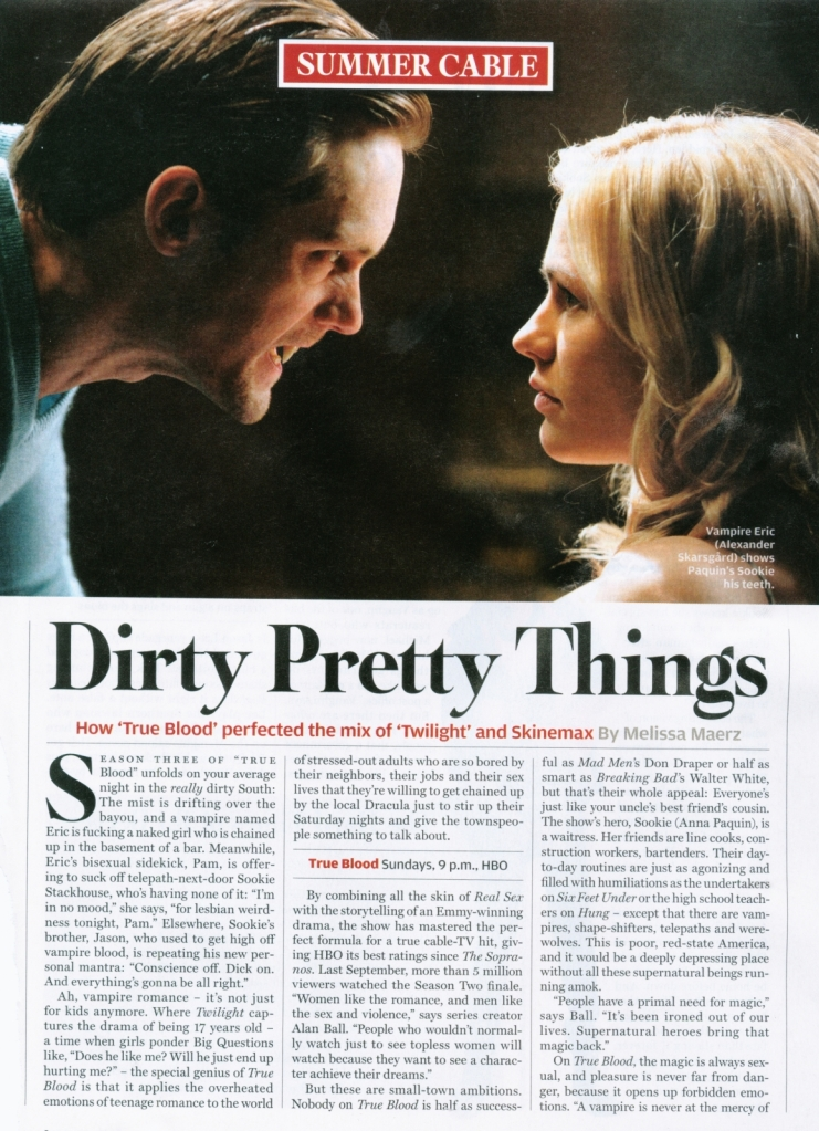 true blood rolling stone magazine cover. True Blood on Rolling Stone